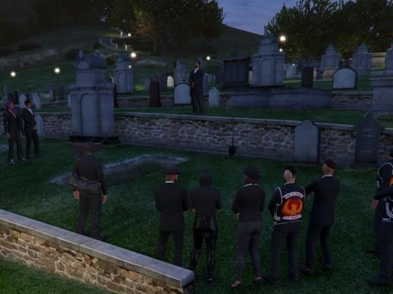 Beerdigung Jason White